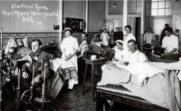 一战期间的英军军医院