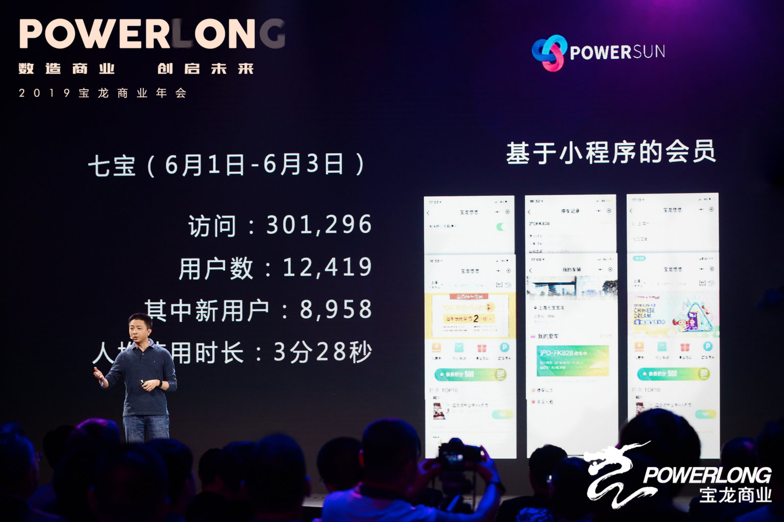 图:宝龙创想实验室首席创新官吴弼川师长分享宝龙新商业展看