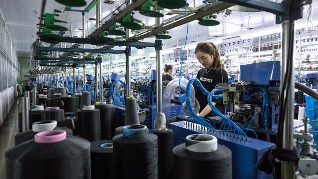 诸暨袜业工厂