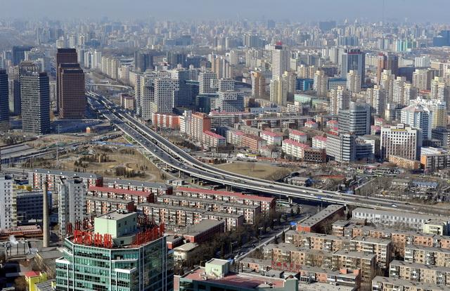 北京城市景不益望。摄影/章轲
