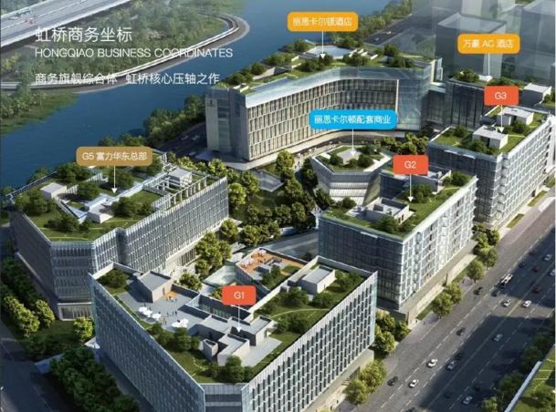 上海富力环球中心鸟瞰图