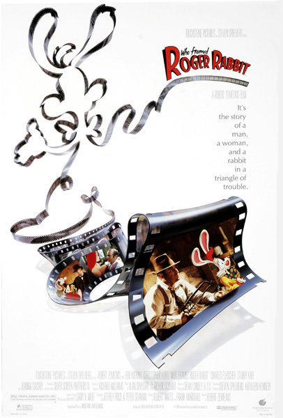 1988年华纳出品的真人动画《谁害死了兔子罗杰》