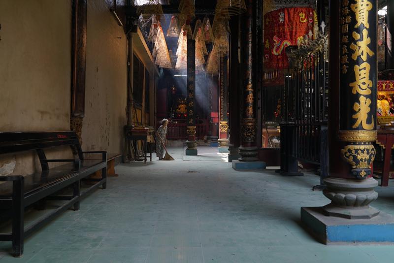 胡志明市的中式庙宇  摄影记者/戴茜