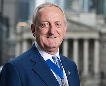 英国伦敦金融城市长艾思林