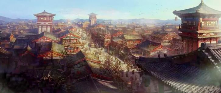 为真实还原大唐风貌,《长安十二时辰》剧组耗资5000万元在象山影视城建了座唐城,还原小说中长安一百零八坊。