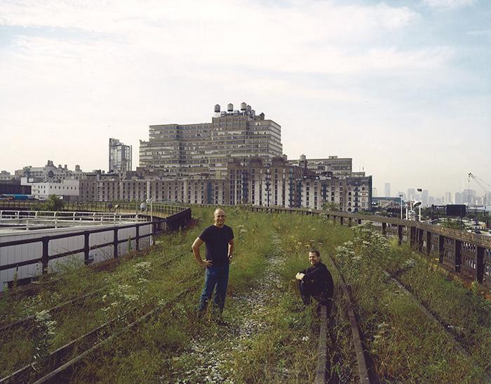 1999年,约书亚•戴维和罗伯特•哈蒙德第一次站上废舍铁路,就信念要珍惜高线遗址。