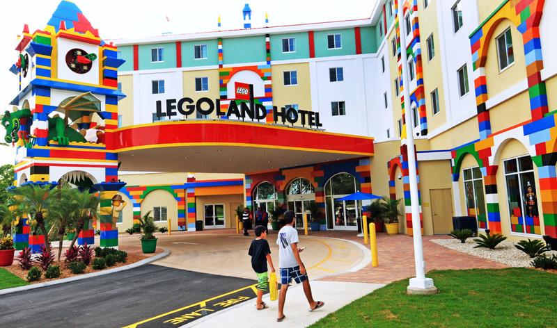 美国佛罗里达州的笑高主题酒店   视觉中国图