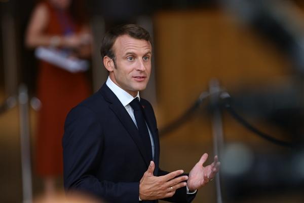 法国总统马克龙。新华社资料图