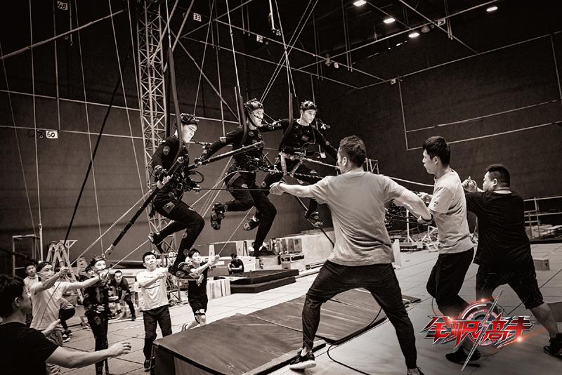 《全职高手》的虚拟场景拍摄地在全亚洲最大的行为捕捉中心