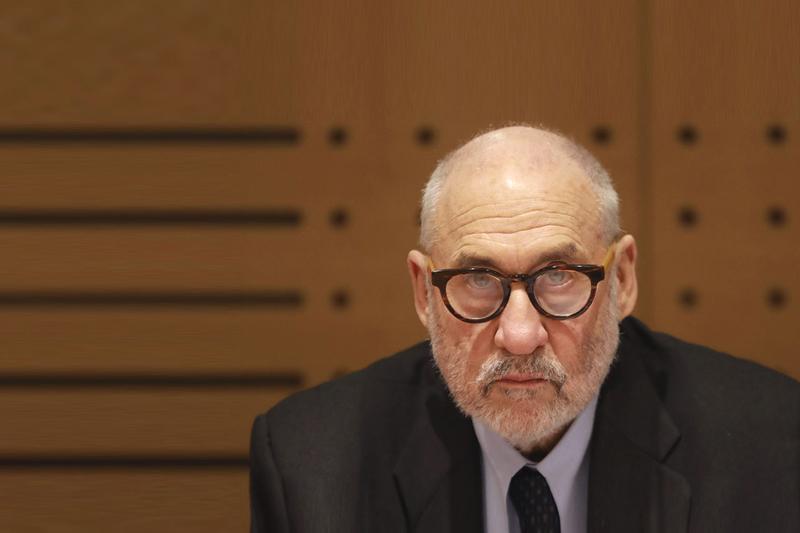 诺贝尔经济学奖得主约瑟夫·斯蒂格利茨