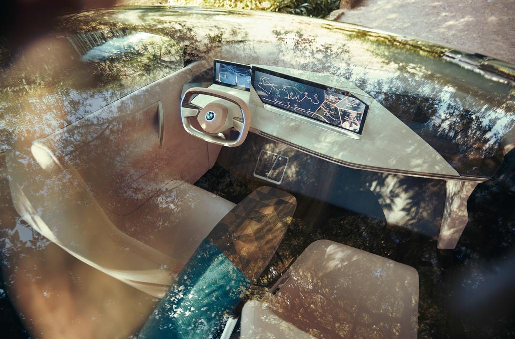 BMW Vision iNEXT驾驶舱