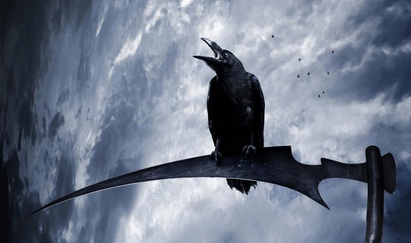 当人们在思维和技术上逐渐取得对自然的支配权时,乌鸦的魔力就被祛魅了,它或是只剩负面力量,被视为灾星、地狱使者,或是因其黑漆漆的外外而遭人厌凶