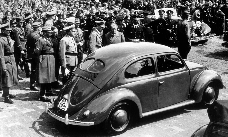 """甲壳虫最初是行为希特勒和他的第三帝国的""""政绩工程""""而诞生的"""