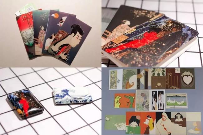 展览限量文创商品,既有亿元本进口限量版商品,又有国内手工艺人和设计师联手之作。