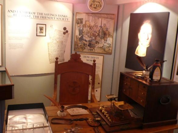 鲁斯韦尔储蓄银行博物馆原址内外