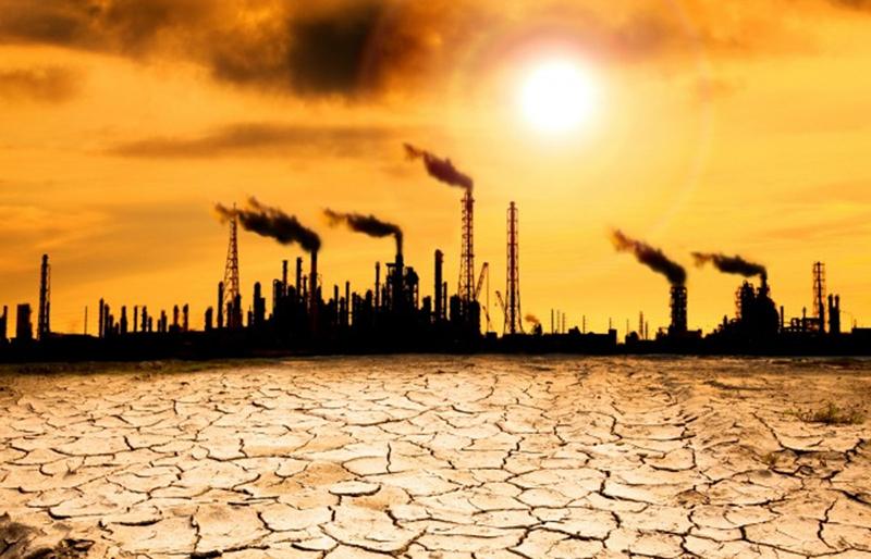 """碳排放是全球变暖的主因,诺德豪斯寄希望于""""价格""""这个市场调节工具,并且更倾向于收取""""碳税""""的方案"""