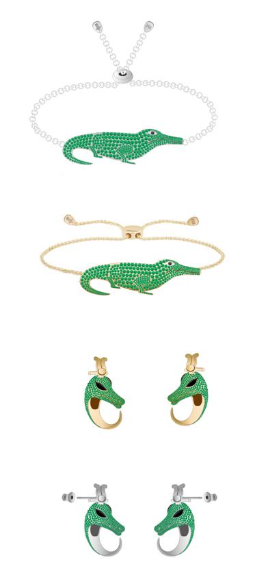 大英博物馆饰品文创淘宝店推出的索贝克手链和耳钉
