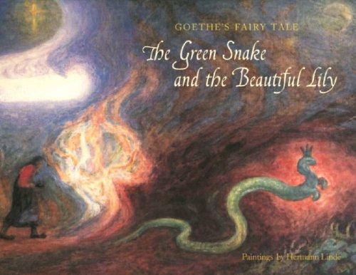 歌德童话《青蛇与美百合》