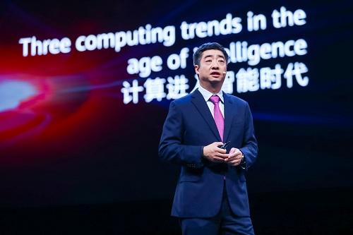 """华为轮值董事长胡厚崑解读计算战略 对""""售卖5G技术""""等问题这样回应"""