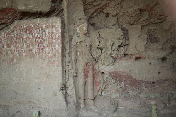 历史上的炳灵寺几度冷艳,留下分别历史时期的造像和壁画