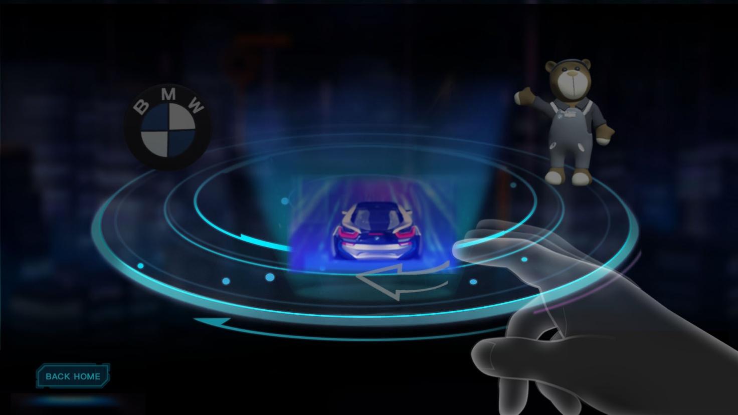 车载3D全息编制——空气中悬浮成像,隔空触控