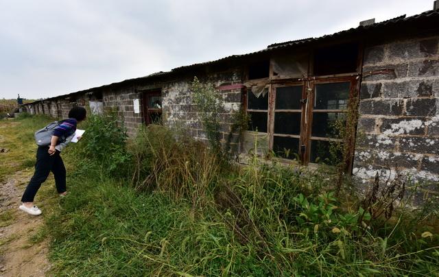 贵州某地被关闭的违法养殖场。摄影/章轲