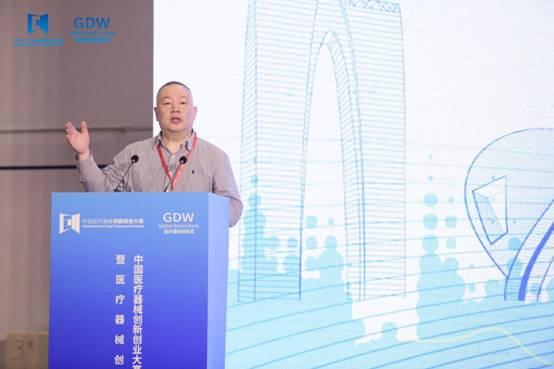 中国医疗器械行业协会常务副会长姜峰