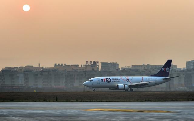 """2019年1月,""""义乌-首尔""""全货机航线正式开通。"""