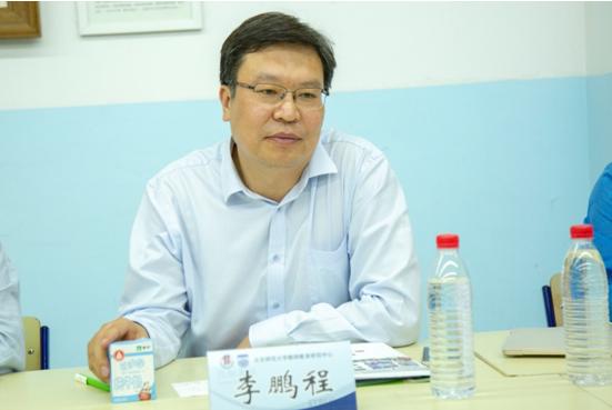 蒙牛集团副总裁李鹏程在启动仪式上致辞
