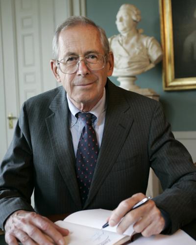 詹姆斯·皮布尔斯(James Peebles)教授。(瑞典皇家科学院官网图)
