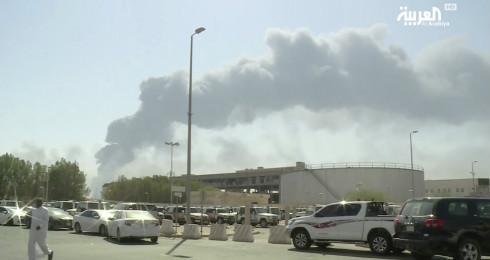 三周前,沙特重要石油设施遇袭一度让地区形势急转直下。