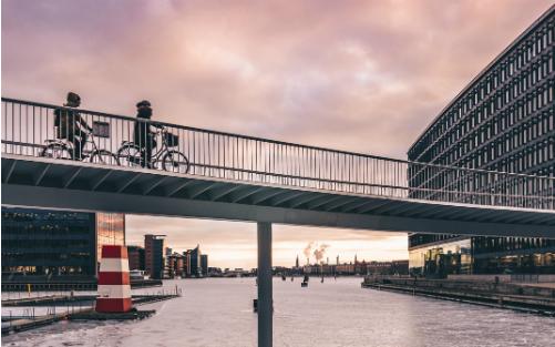 哥本哈根的城市骑走道   图片来源:哥本哈根旅游局官网