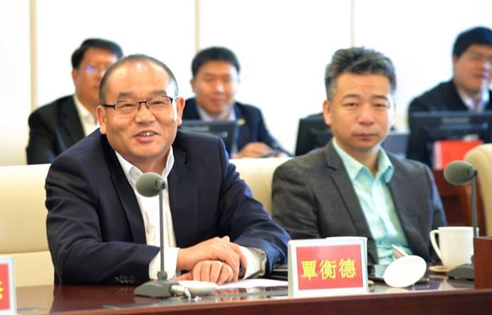 中化农业党委布告、总裁覃衡德描画中化农业与蒙牛整体合作的愿景