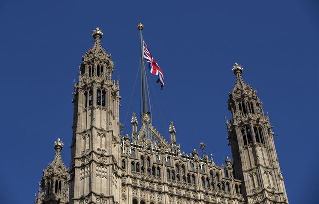 图为英国议会大厦。新华社图