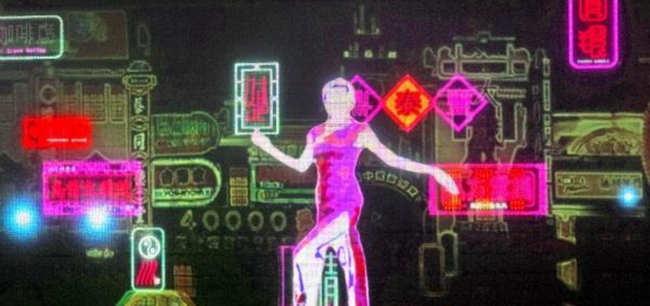 """《魔都记忆——百年大世界》沉浸式展览秀,用""""大世界""""元素设计打造艺术装置。"""