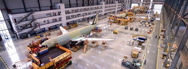 天津自贸区机场片区空中客车生产基地