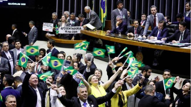 巴西参议院10月议定养老金改革法案