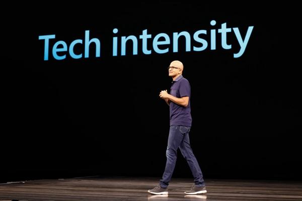 微软CEO纳德拉。(微软官网)