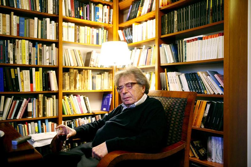 匈牙利著名作家哲尔吉·康拉德(1933年4月~2019年9月)