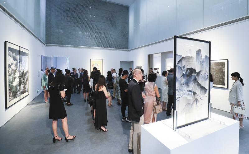 去年11月,大华银行大厦一层的大华银行艺术画廊正式向公众开放