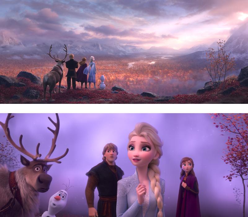 《冰雪奇缘2》中,艾莎、安娜和朋友们深入神秘魔法森林,发现阿伦黛尔王国长久以来深藏的秘密,以及艾莎魔法来源的真相。