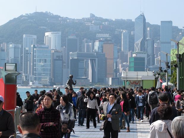 社会不稳,访港旅客数量持续下降