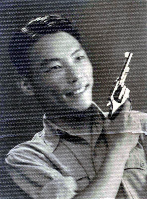 20世纪40年代,熊向晖送给妻子谌筱华的照片