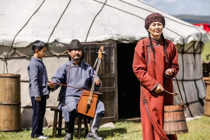 内蒙古乌兰察布市四子王旗草原的都贵玛,是阿柔娜等草原母亲的原型之一。