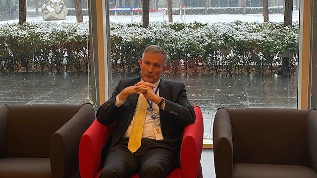 法国新任驻华大使罗梁 。摄影/第一财经记者高雅