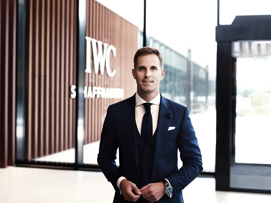 IWC万国外首席实走官克里斯托弗·格莱恩格-海尔Christoph Grainger-Herr积极推动详细服务