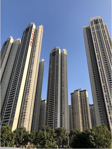 图为广州广钢新城某楼盘。 林小昭/摄