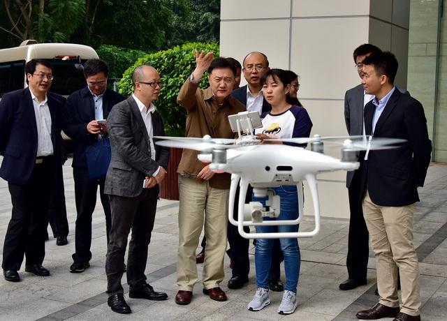 大疆无人机成为10年来最具影响力科技产品之一。摄影/章轲