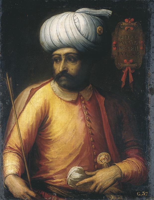1516年征服马穆鲁克王朝阿拉伯领土的奥斯曼苏丹塞利姆一世