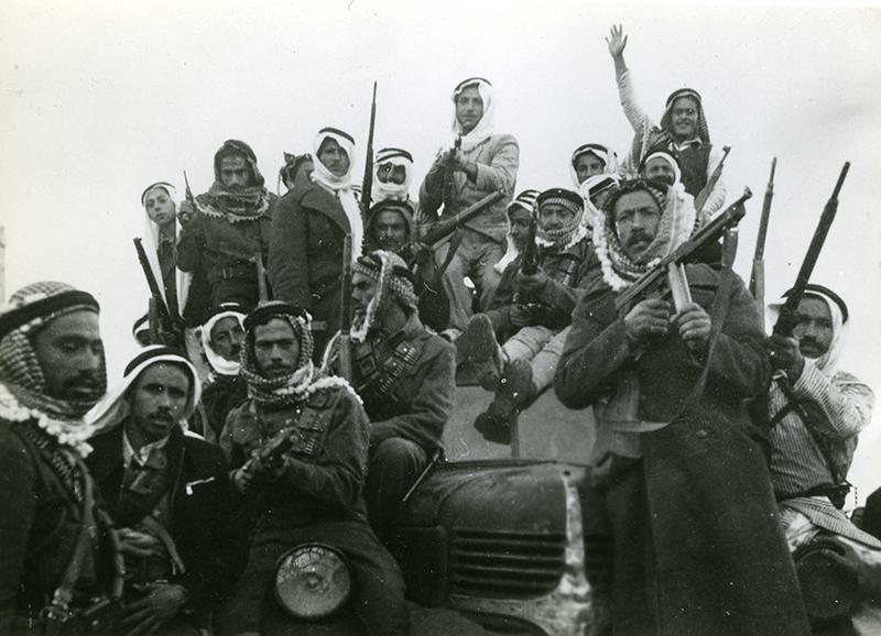 1948年巴以冲突中的巴勒斯坦军队。